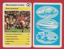 Manchester United Brian Greenhoff England